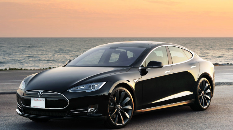Tesla-elektrisch rijden