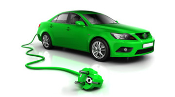 Top electric car green plug New York Government