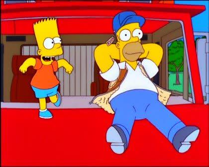 Simpsons self driving car Website The Tesla Report